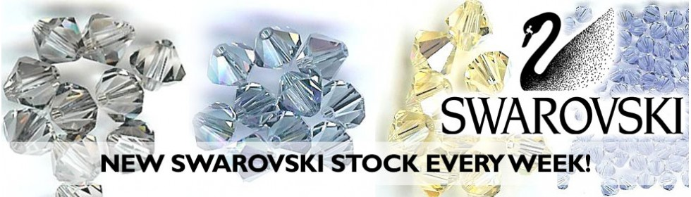 Swarovski stock arriving all the time