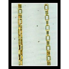 3mm Brass Box Chain