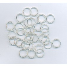 10mm Silver Jumprings