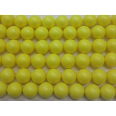 10mm Swarovski Neon Yellow Pearl