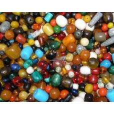 man made mixed resin beads