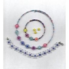 3 sizes daisy beads