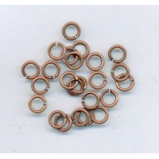 5mm Jumprings Copper Ox