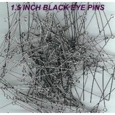 1.5 Inch Eyepins Black Nickle