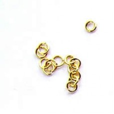 3mm Gold Jumprings