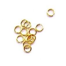 4mm Gold Jumprings