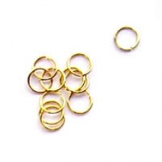 5mm Gold Jumprings