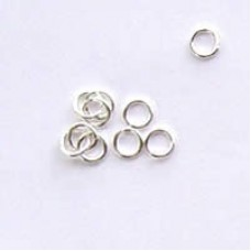 4mm Silver Jumprings