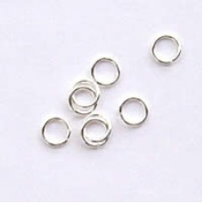 5mm Silver Jumprings