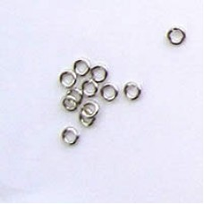 3mm Nickle Jumprings