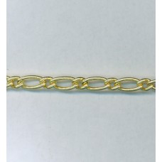 Medium Curb Chain Gold