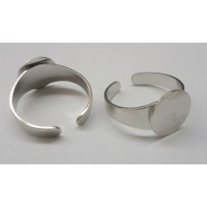 Ring Shank with 12mm Flat Pad