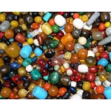 man made amber beads