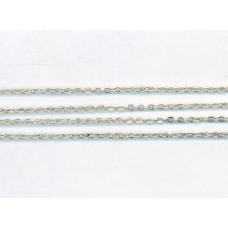 Very Fine Trace Chain Silver Ox SS-2499-235