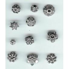 new bali bead caps