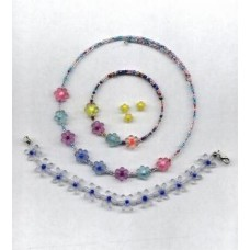 daisy beads on memory wire