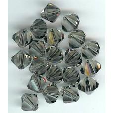 8mm Swarovski Bicone Black Diamond