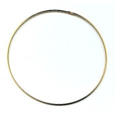 Flat Neckring Gold
