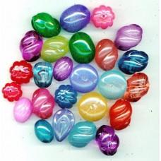 new  czec republic plastic  summer beads