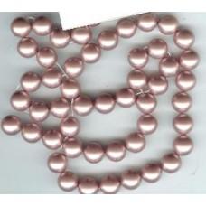 swarofski 10mm powder rose pearl