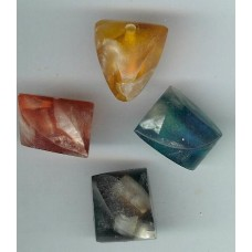 resin ice cube shapes mixed colours