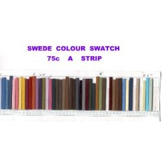 suede strips 900mm colour sheet