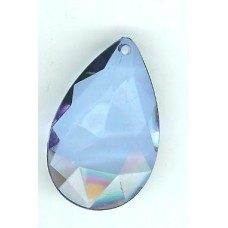 35mm x20mm light blue teardrop