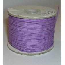 100 m purple waxed cotton .5mm