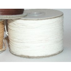 100 m white waxed cotton .5mm
