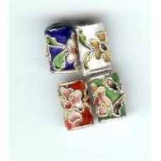 Small Cloisonne Tubes