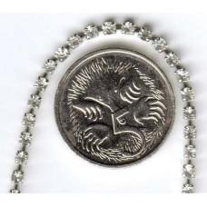 Swarovski Crystal Diamonte Chain Silver Plated 2mm