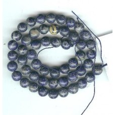 8mm  lapis rounds  good  quality