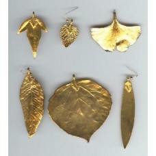 mixed REAL GOLD PLATED leaves $3.00 each